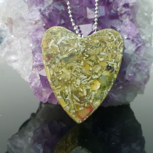 Love Heart Orgone 5G/EMF &  Ascension Pendant 528hz